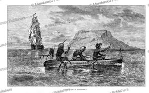 natives of futuna, vanuatu, william dickens, 1863