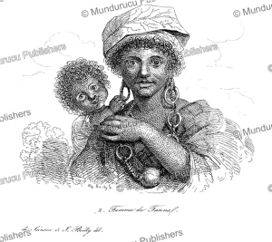 Woman and child from Tanna, Vanuatu, Jules Boilly, 1839 | Photos and Images | Travel