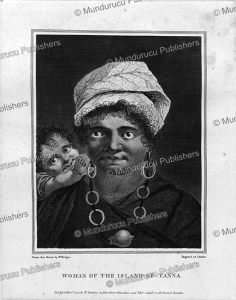 Woman of the island of Tanna, William Hodges, 1777 | Photos and Images | Travel