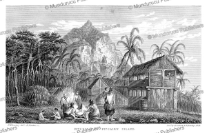 Pitcairn Island, Gambier Islands, Richard B. Beechey, 1831 | Photos and Images | Travel