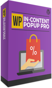 wp in-content popup pro