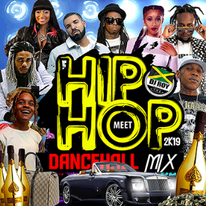 dj roy hip hop meet dancehall mix [march 2019]