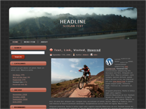 Second Additional product image for - 50 Plus WordPress Themes