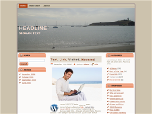Fourth Additional product image for - 50 Plus WordPress Themes