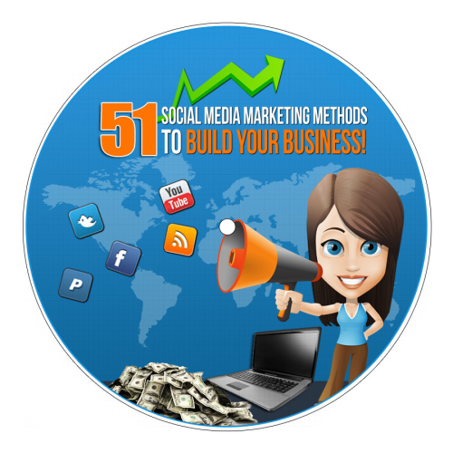 First Additional product image for - 51 Social Media Marketing Methods To Build Your Business