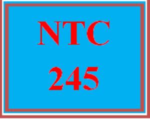 NTC 245 Week 2 Individual: LAN Diagramming | eBooks | Education
