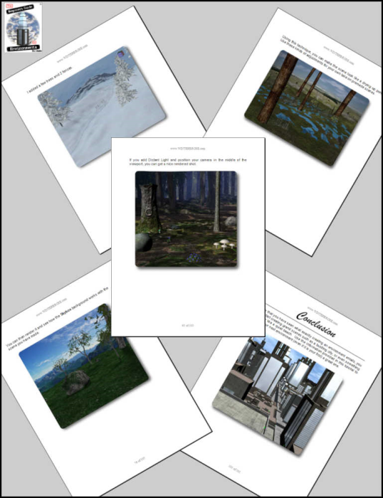 Third Additional product image for - The Beginner's Guide to Environments for Daz Studio 4