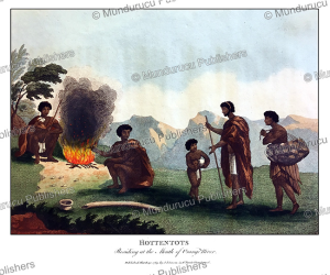 hottentots encampment, william paterson, 1789