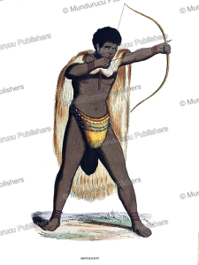 Hottentot warrior, Theophile Emanuel Duverger, 1844 | Photos and Images | Travel