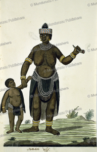 khoi woman with child, robert jacob gordon, 1786