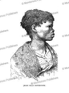 a young hottentot warrior, fre´de´ric christol, 1895
