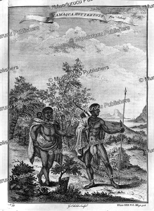 hottentot family, jachard, 1745