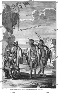 hottentots of cape of good hope, m. balen, 1672