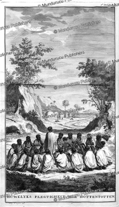 marriage ritual of the hottentots, i.c. philips, 1727