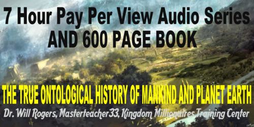 Second Additional product image for - 7 Hour Audio Series And Book = Ontological  History Of Mankind