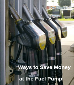 ways to save money at the fuel pump