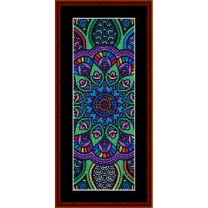 Mandala 14 Bookmark cross stitch pattern by Cross Stitch Collectibles | Crafting | Cross-Stitch | Other