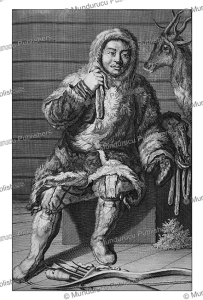Samoyed man, Cornelis de Bruins, 1711 | Photos and Images | Travel