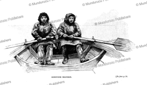 Samoyed boatmen, Siberia, Julius Price, 1892 | Photos and Images | Travel