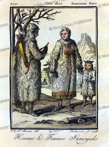 Samoyed man and woman, Grasset Saint-Sauveur, 1795 | Photos and Images | Travel