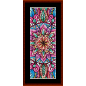 Mandala 8  Bookmark cross stitch pattern by Cross Stitch Collectibles | Crafting | Cross-Stitch | Other