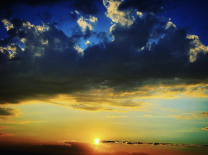 The most beautiful thing for me in this. the world is a sunset | Photos and Images | Nature