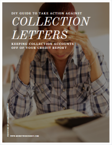 diy guide to take action against collection letters