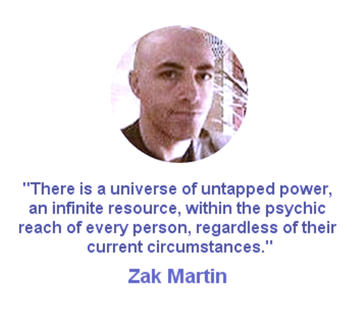 Third Additional product image for - Zak Martin's Psychic Development Course