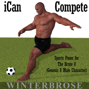 ican compete sports poses for the brute 8 (genesis 8 male character)