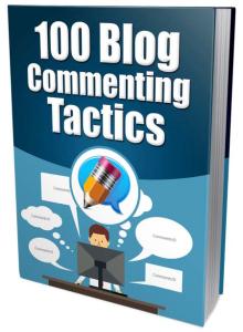100 blog commenting tactics