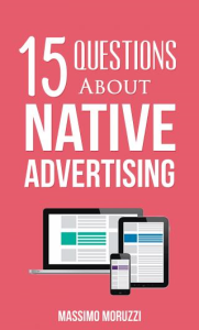 15 Questions About Native Advertising | eBooks | Business and Money