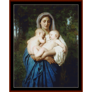 Charity, 1859 - Bouguereau cross stitch pattern by Cross Stitch Collectibles | Crafting | Cross-Stitch | Other