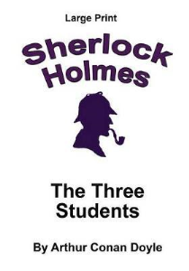 the adventure of the three students arthur conan doyle