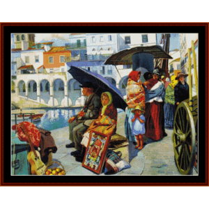 emigrantes - custom pattern by cross stitch collectibles