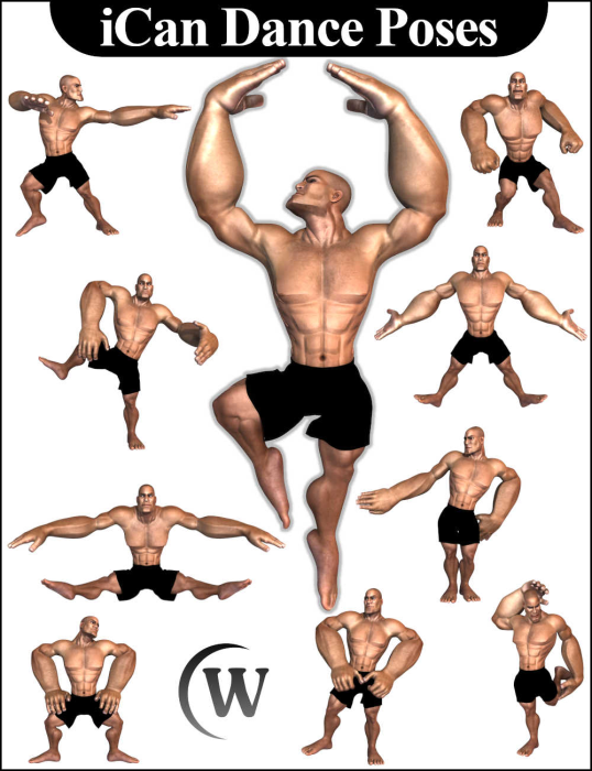 First Additional product image for - iCan DANCE Dancing Poses for Toon Dwayne 8