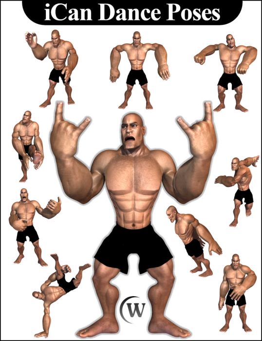 Third Additional product image for - iCan DANCE Dancing Poses for Toon Dwayne 8