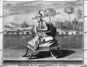 shah khalil sultan bin miran (1384-1411), the 2nd great mughal, francois valentyn, 1776