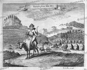 Tartars, E. Ysbrants Ides, 1704 | Photos and Images | Travel