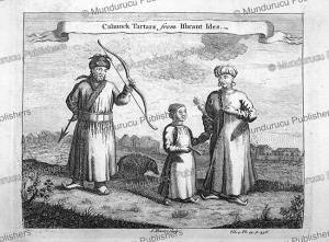 Calmuck (Kalmyk) Tartars, John Green, 1746 | Photos and Images | Travel