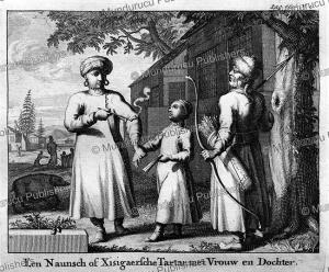 A Xixigarische (Kalmyk) Tarter, Mongolia, Nicolaas Witsen, 1785   Photos and Images   Travel