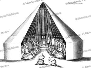A Kalmyk temple tent, Mongolia, Simon Pallas, 1776 | Photos and Images | Travel