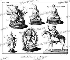 Kalmyk and Mongolian idols, Mongolia, N. Thomas, 1770 | Photos and Images | Travel