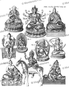 Figures of divinities in the Kalmyk religion (fig. 2 of the Dalai Lama), Mongolia, Simon Pallas, 1776 | Photos and Images | Travel