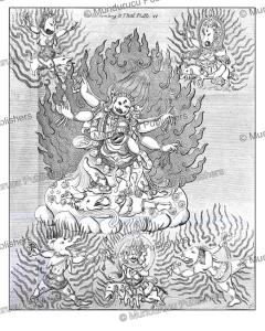 Ghongor, a major divinity in Tibetan-Mongolian religion, Simon Pallas, 1776 | Photos and Images | Travel