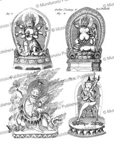 Kalmyk demons, Mongolia, Simon Pallas, 1776 | Photos and Images | Travel