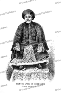 mongol lama of high rank, james gilmour, 1883