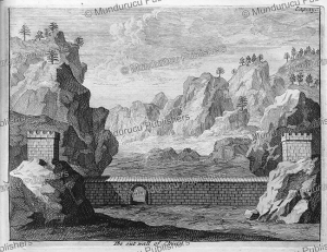 the out wall of china, mongolia, ysbrants ides, 1705