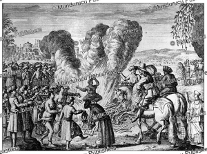 The burning of women in India, Jean-Albert de Mandelslo, 1732 | Photos and Images | Travel