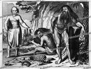 Fakirs from India, Johannes van Waesbergen, 1672 | Photos and Images | Travel