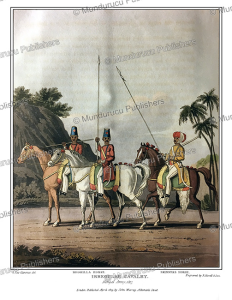 Irregular Cavalry of the Bengal army, India, G. Fitz Clarence, 1819   Photos and Images   Travel